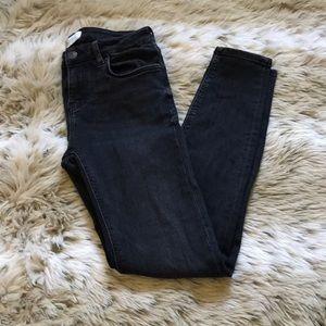 Zara Premium Denim Collection Black Jeggings - 6